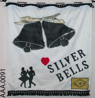 Banner - Silver Bells Square Dance Club - Felt/Cotton