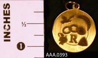 Rebekah Pendant - Gold Plated Metal