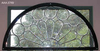 Window - Wood/Leaded Glass