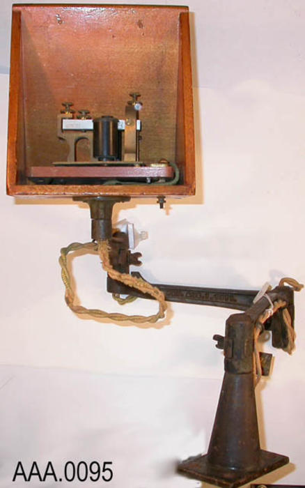 This artifact consists of one telegraph receiving unit.