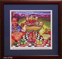 Framed Art - The Founders