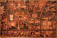 Color Aerial Photograph - Corona 1980's