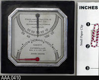 Temperature Scale - Aluminum/Glass