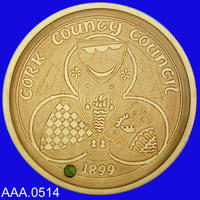 Cork County Council Platter - Fired Clay