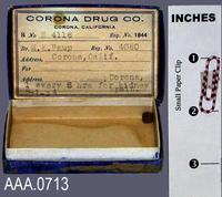 Medication in Box - Cardboard/Pill