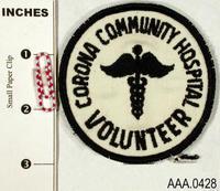 Volunteer Patch - Cloth