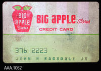 Big Apple Credit Card - Plastic