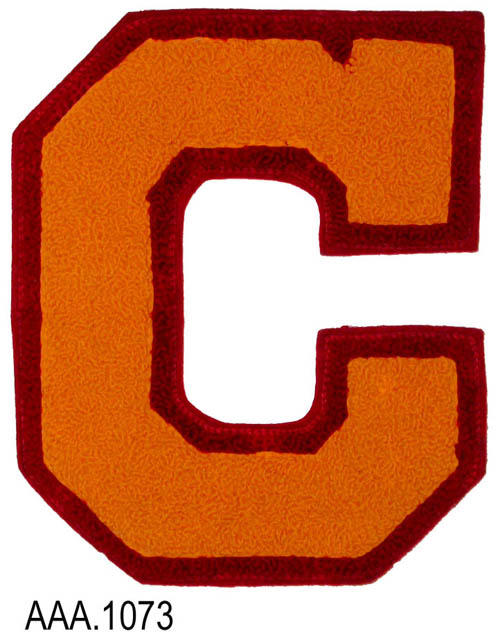 "This artifact is the varsity letter ""C"" from Corona High School."
