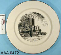 Plate - China