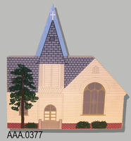 Model Church - Wood