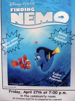 """Finding Nemo"" Movie Event Poster"
