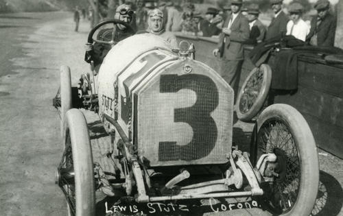 Lewis in a Stutz #3, New