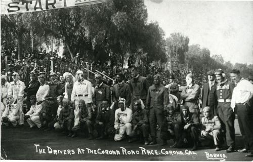 The drivers at the Corona Road Race, New