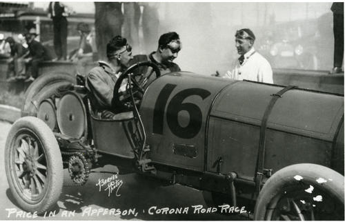 Price in an #16 Apperson- Corona Road Race, New
