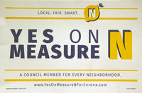 Yes on Measure N Poster