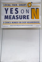 Yes on Measure N Yard Sign