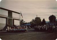 Corona Junior High School Band at Dedication Ceremony