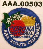 Corona Centennial Patch