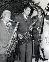 Alfonso Lopez with Band