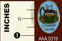 1996 Corona Centennial Logo Pin - Metal
