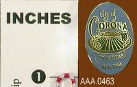 1996 Corona Centennial Pins - Metal