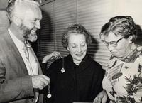 Charles O. Thompson, Mrs. L. J. Johnson, and Miss Margaret Mitchell
