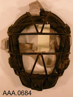 Catcher's Mask - Metal/Leather