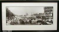 1916 Corona Road Racing Framed B/W Photograph