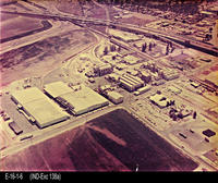 Photo - c. 1960's - Aerial View - Exchange Lemon Products Plant - Sunkist