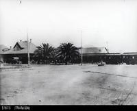 Photo - c. 1937 - Corona Santa Fe Depot