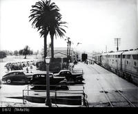 Photo - c. 1941 - Corona Santa Fe Depot