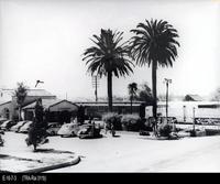 Photo - c. 1952 - Corona Santa Fe Depot
