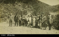 Photo - c. 1926 - Crowd at dedication of Skyline Drive on Skyline