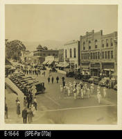 Photo - c. 1920's - Marching Band at Main and 7th St.