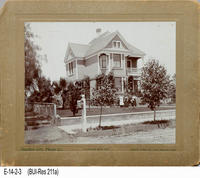 Photo - c. 1900 - Probably the Taylor Home - Los Angeles