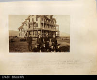 Photo - c. 1887 - Temescal Hotel and 6th and Main