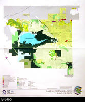 Map - 2001 - Lake Mathews Area Plan - Land Use Plan -  Large Map