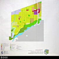 Map - 2001 - Eastvale Area Plan - Proposed Land Use Plan - Large Map