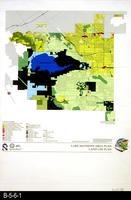 Map - 2001 - Lake Mathews Area Plan - Land Use Plan -  Small Map