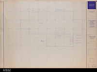 Blueprint - 1991 - Lower Level - Furniture Plan - South