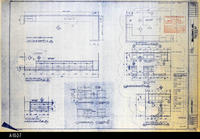 Blueprint - 1992 - Millcraft, Inc. - Furniture Placement - Elevation and Room:...                 108 and 124