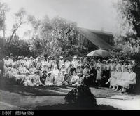 Photo - c. 1900 - Group Picture - 72 Women - Woman's Improvement Club