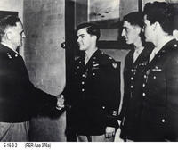 Photo - c. 1943 - James Stewart Receiving the Distinguished Service Cross
