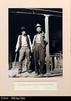 Photo - c. 1890 - Frederico Botiller, Grandson of Bernardo Yorba with Friend...