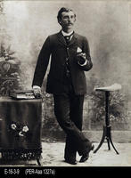 Photo - c. 1880 - Man Standing - Studio Portrait