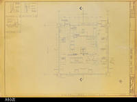 Blueprint - Heritage Room Floor Plan - Job No. 101-76