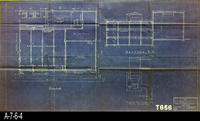 Blueprint - 1930 - Proposed Prescooling Plant - Olive Heights Citrus                 Association
