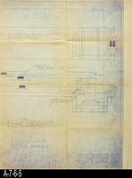 Blueprint - 1945 - Pit and Trench Details - Stack Dumper