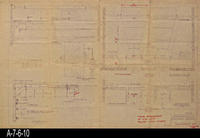"Blueprint - 1961 - Details for Installing ""Fish"" Units"