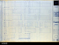 Blueprint - Corona Public Library - Interior Elevations Main Level - A5.6